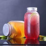 Buy cheap Disposable Pet Plastic Drink Bottles Beverage Bottles 500ml Plastic Tamper Proof Cap from wholesalers