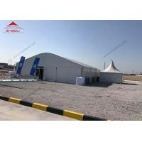 Buy cheap 15 x 20m Marquee Arcum Tent 15m High Reinforce Hot - DIP Galvanized For 400 People product