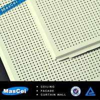 Buy cheap Acoustic Ceiling Tile with Perforated Metal Strips from wholesalers