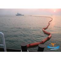 Buy cheap Easy Deployment Oil Spill Containment Boom , Pvc Oil Boom 20KN Strength from wholesalers