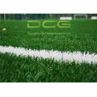 Buy cheap 8 Years Guaranty Football Artificial Grass / Soccer Artificial Turf Durable from wholesalers