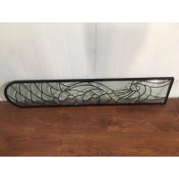 Buy cheap Translucency Bevel Art Glass Panels Curve / Flat Shape Custom Size from wholesalers
