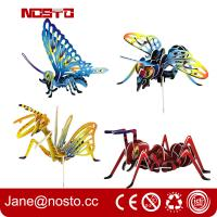 Buy cheap 3D Jigsaw Puzzles Insect Cartoon Toys DIY Brain Train promotional toys from wholesalers