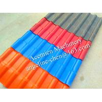 Quality New plastic PVC colonial roofing tile roofing sheet for sale