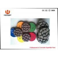 Buy cheap High Speed Polishing Pads , 3'' Dry Concrete Polishing Pads For Grinder from wholesalers