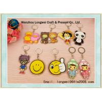 Buy cheap Customized Acrylic Keychain , Animal Shapes Custom Key Ring from wholesalers