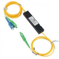 Buy cheap Fiber Optic Cable Adapter WDM FWDM Splitter 1X2 Coupler RoHS CE Certification from wholesalers