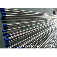 Buy cheap Stainless Steel Welded Tube ASTM A249 , Stainless Steel Instrument Tubing 20FT Length from wholesalers