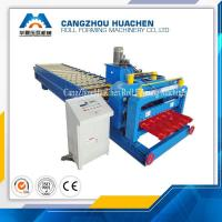 Buy cheap PPGI Colored Glazed Tile Roll Forming Machine 380V 50HZ 3phase , 3000kg-20000kg from wholesalers