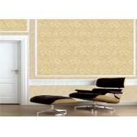 Buy cheap Classic Embossed Damask Wallpaper , Vintage Embossed Vinyl Wallpaper product