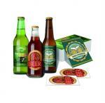 Buy cheap OEM Waterproof Metalized Labels Custom Adhesive Sticker Beer Labels For Wine Bottle from wholesalers