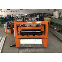 Buy cheap Fasten Metal Roof Panel Roll Forming Machine Boltless Locked 5.5KW Motor Driving from wholesalers