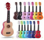 Buy cheap Wholesale colorful  ukulele  21 Soprano Ukulele Basswood Nylon 4 Strings Acoustic Bass Guitar Ukulele Musical Stringed from wholesalers