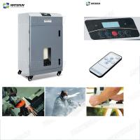 Buy cheap 110 V Industrial Fume Extraction Systems Sawdust Woodchips Absorbing And Filtering from wholesalers