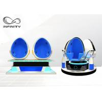 Buy cheap Virtual Reality Roller Coaster 9D VR Egg Cinema Machine With Helmet from wholesalers