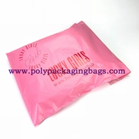 Buy cheap Pink Opaque 0.14mm Self Adhesive Plastic Bags For Shipping Mailing from wholesalers