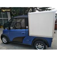 Buy cheap Cargo Carrier light duty electric van 2 Passenger with Reverse Sensor High Speed from wholesalers