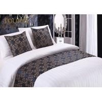 Buy cheap Woven Fashion Design King Size Bed Runner / Cotton Quilted Bed Runner from wholesalers