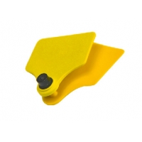 Buy cheap Alien H3 Chip TPU UHF Cattle Ear Tag For Animal Identification from wholesalers
