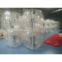 Buy cheap Rent Big Inflatable Human Bubble Ball Soccer , Indoor Body Zorbing Ball from wholesalers