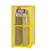 Buy cheap 9 Cylinder Protection Gas Cabinet for Gas Cylinder Safety cabinet cage from wholesalers