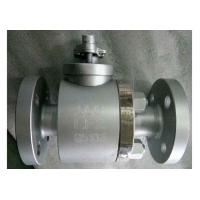 Buy cheap API6D Forged Steel Full Bore Ball Valve EN1092 Renewable Seat For Steam from wholesalers