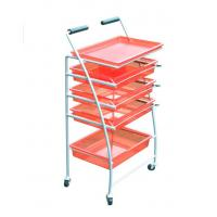 Buy cheap Customized Strong and Durable Italy Beauty Hair Salon Trolley Carts from wholesalers