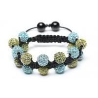 Buy cheap Shamballa Bracelet, Crystal Pave Alloy Beads, Double Row from wholesalers
