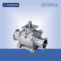 Buy cheap 3-pcs Non-retention ball valve,Directly ball valve SS304/316L BPE Standard for food from wholesalers