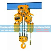 Buy cheap Top Quality China Made 10 Ton Electric Chain Hoist with Monorail Trolley from wholesalers