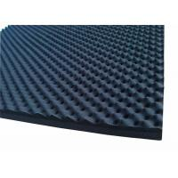 Buy cheap Egg Shaped Acoustic Rubber Foam Sound Proofing Material 50mmRubber Acoustic Foam from wholesalers