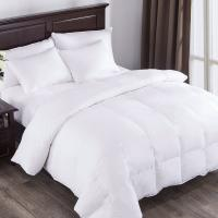 Buy cheap White Down Comforter, Year Round Use, 100%Cotton, 600 Fill Power, 233 Thread Count , King Size, White from wholesalers