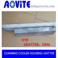 Buy cheap CUMMINE 3347739 COOLER HOUSING FROM CHINA product