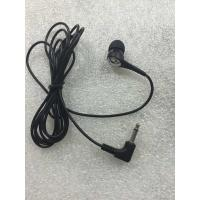 Buy cheap 3.5mm High quality in-ear earphones disposable mono earphones from wholesalers