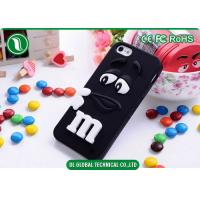 Buy cheap Lovely 4.7 inch 3D M&M Phone Case iPhone 6 SiliconeProtective Cover from wholesalers