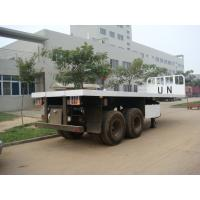 Buy cheap 20 Feet  Flat Bed Semi-Trailer from wholesalers