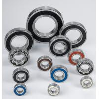 Buy cheap Chrome Steel Deep Groove Ball Bearing 6200 2RS, 6200 ZZ product