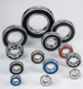 Buy cheap Chrome Steel Deep Groove Ball Bearing 6200 2RS, 6200 ZZ product