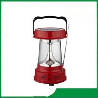 Buy cheap High quality portable solar led lantern with AM, FM radio, led light solar camping lantern for cheap sale from wholesalers