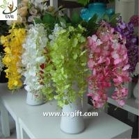 Buy cheap UVG High quality orchid artificial flowers imported from china use for wedding ornaments from wholesalers