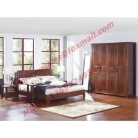 Buy cheap Modern Chinese Style Design Solid Wood Bedroom Furniture Sets product