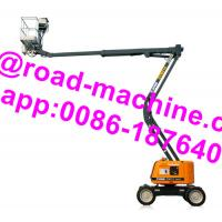Buy cheap GTBZ14 Model Heavy Construction Machinery 14m Articulated Boom Type Aerial Work Platform from wholesalers