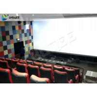 Buy cheap Durable 4 People 4D Dynamic Cinema 4D Cinema Equipment With Motion Chair from wholesalers