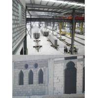 Buy cheap Light Weight Gypsum AAC Block Production Line Concrete Block Making Plant 300000m3 380kw - 450kw from wholesalers