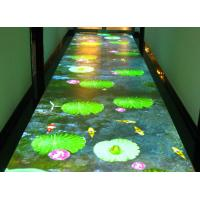 Buy cheap Airport Interactive Floor Projectors Interactive Display Screen For Table / Bar from wholesalers