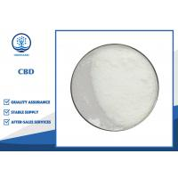 Buy cheap Natural Active Pharma Ingredients CBD Isolate Powder CAS 13956-29-1 from wholesalers
