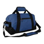 Buy cheap Small Navy Mens Sports Bag/ Mens Athletic Bags Breathable Big Capacity from wholesalers