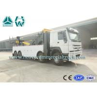 Multifunctional Wrecker Tow Truck 50 Tons with Fuel Type Diesel HOWO