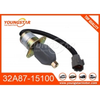 Buy cheap 32A87-15100 32A8715100 Engine Stop Solenoid For Mitsubishi S4S S6S from wholesalers