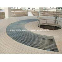 Buy cheap High Tensile Metal Steel Stair Treads Grating Panels Custom Surface Treatment from wholesalers